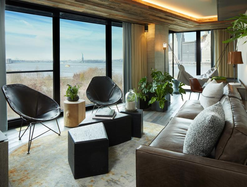 1 Hotel Brooklyn Bridge Suite with waterfront view