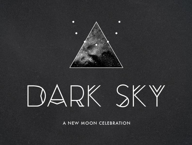 Dark sky new moon celebration