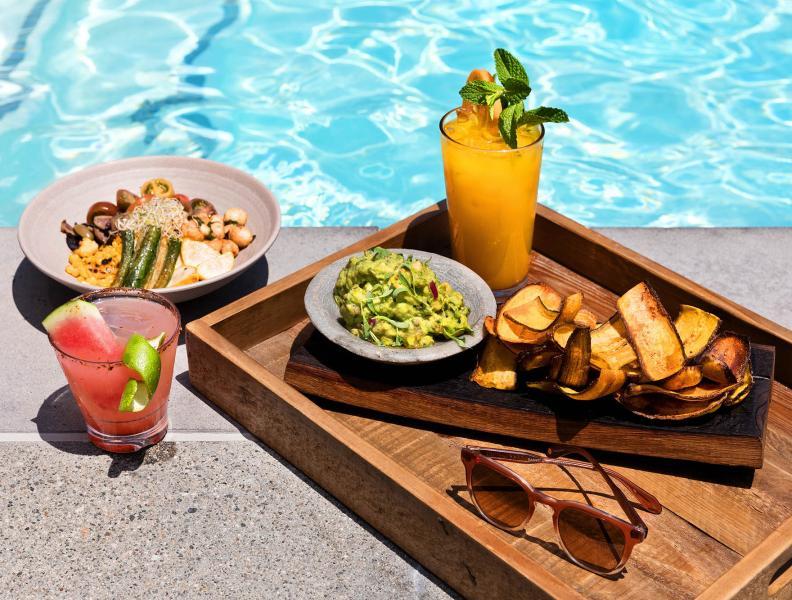 1 Hotel West Hollywood Pool Lounge