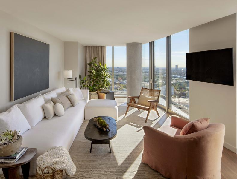 1 Hotel West Hollywood Panoramic One Bedroom Suite