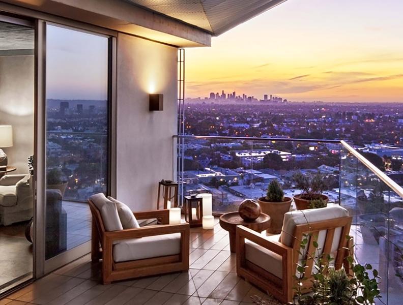 Canyon Penthouse Balcony View