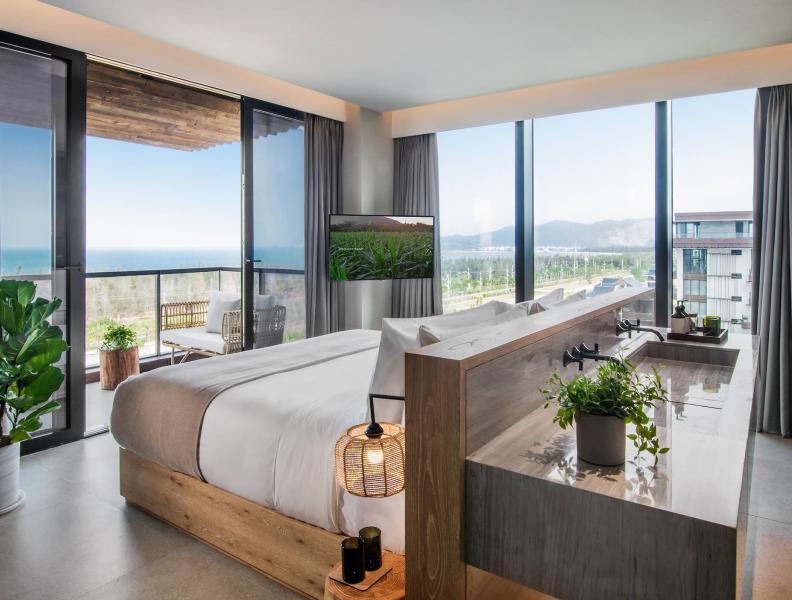 Ocean Pool View Suite-Bedroom 海景泳池景观套房-卧室3