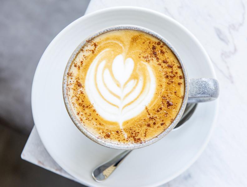 Latte with Bluestone Coffee