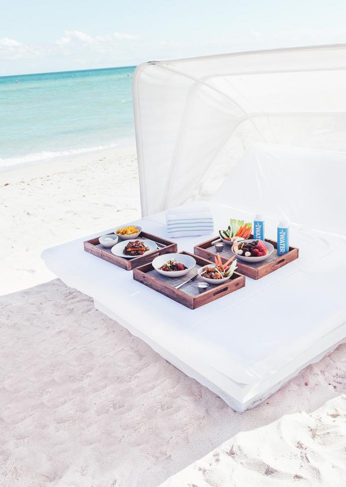 Cabana on the beach