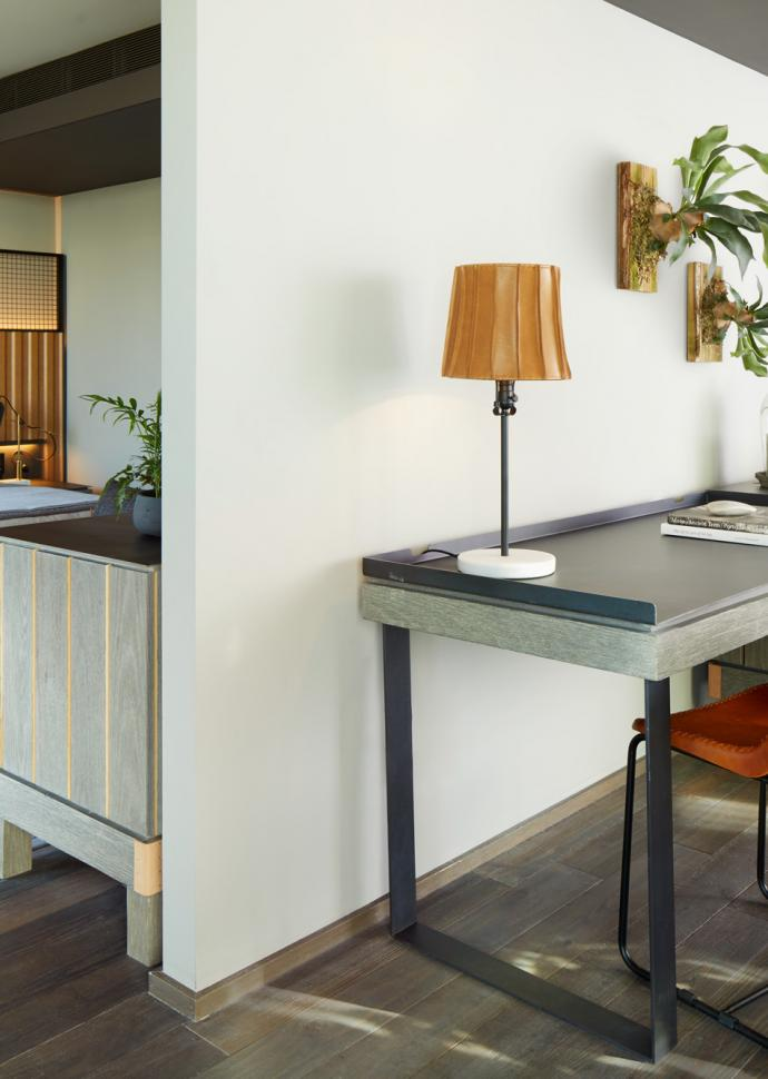 A guest suite at 1 Hotel Brooklyn Bridge