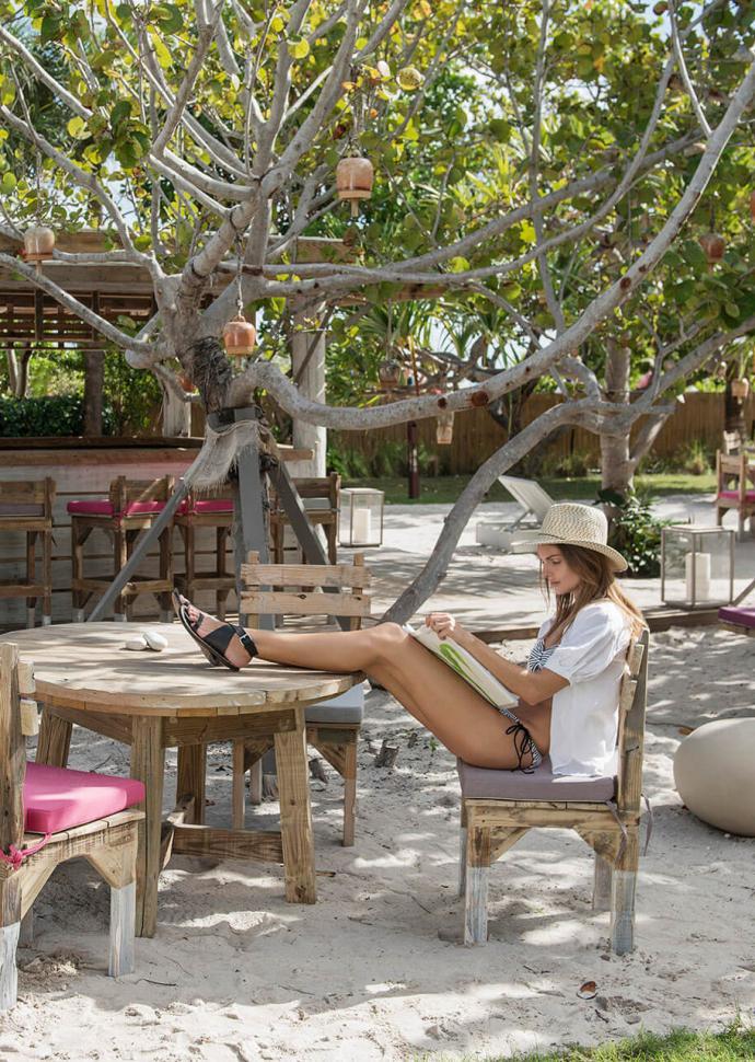 Private Beach Club at 1 Hotel South Beach