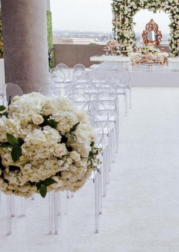 Skyline Deck Wedding