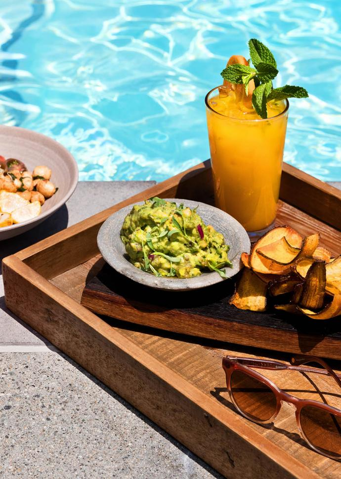 1 Hotel West Hollywood Pool Lounge