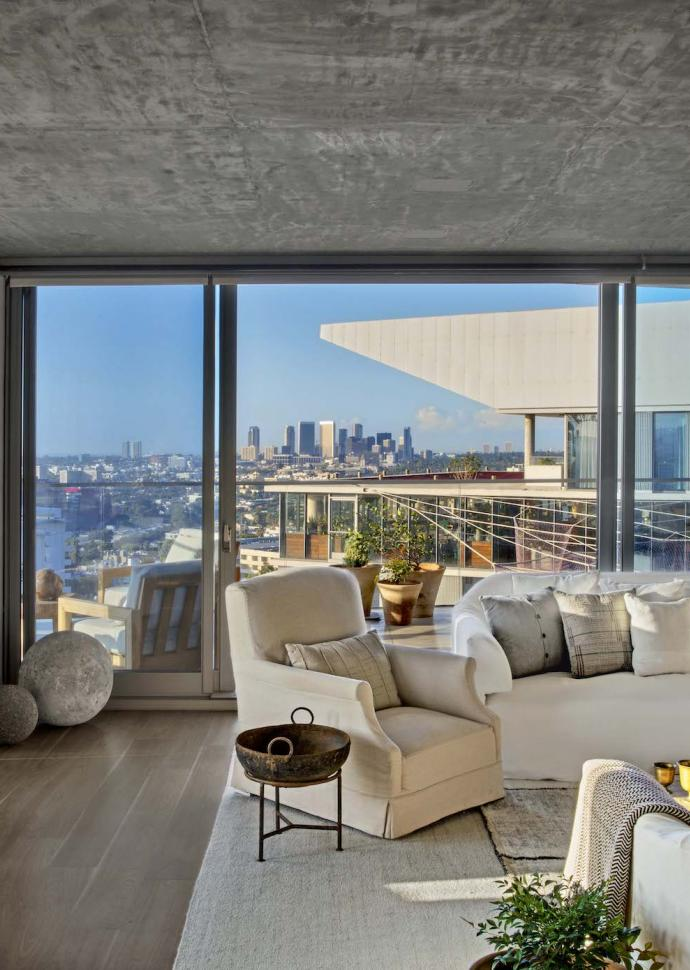Canyon Penthouse Living Room