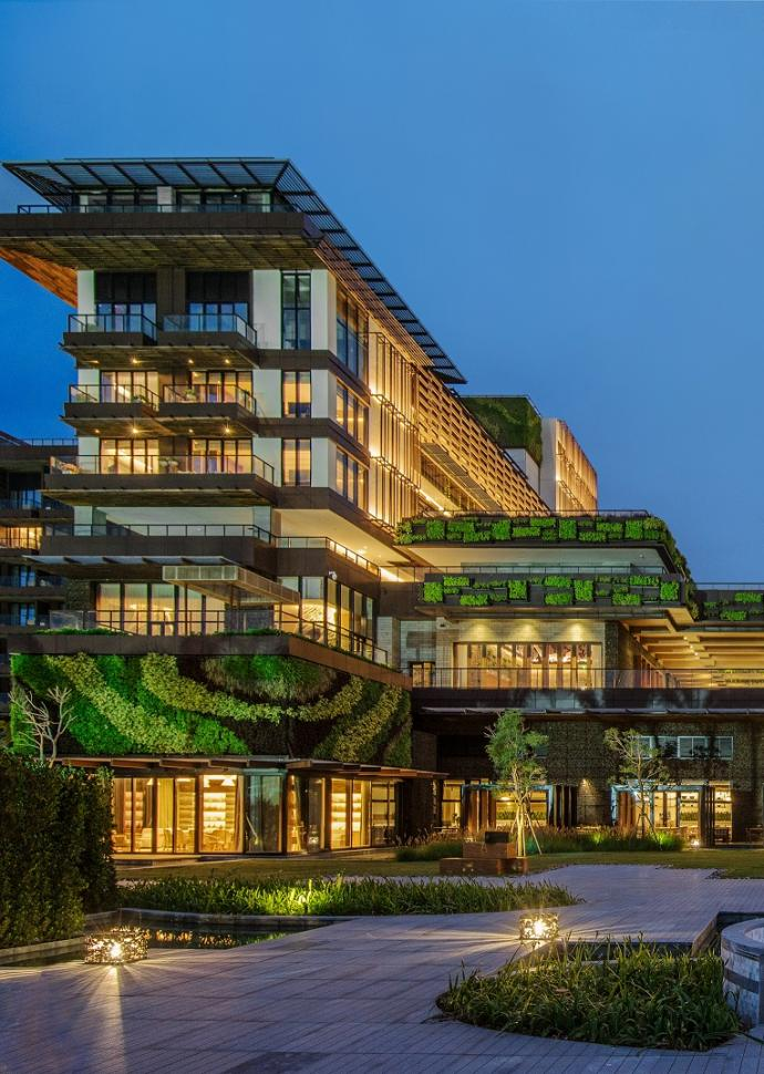 Hotel exterior-night