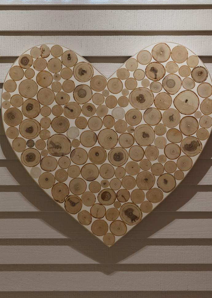 Bamford Wellness Spa Wall Art Heart
