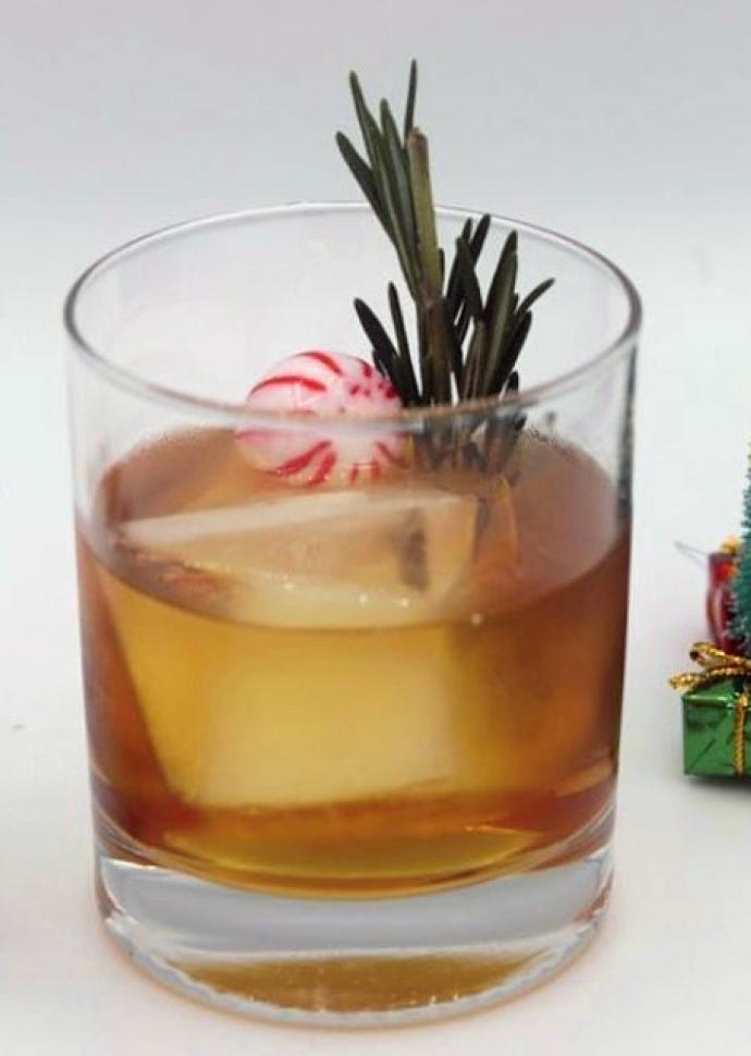 Holiday Morning Old Fashioned