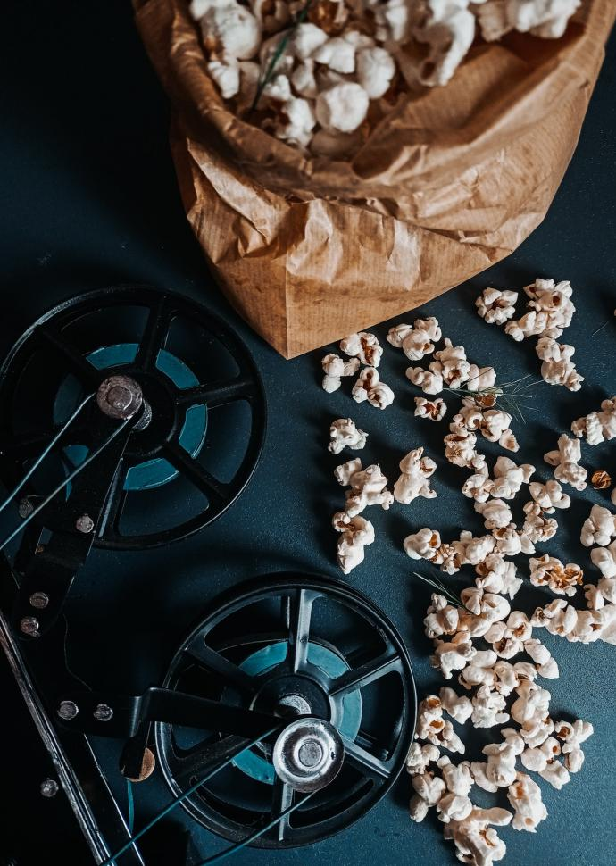 Popcorn and movies