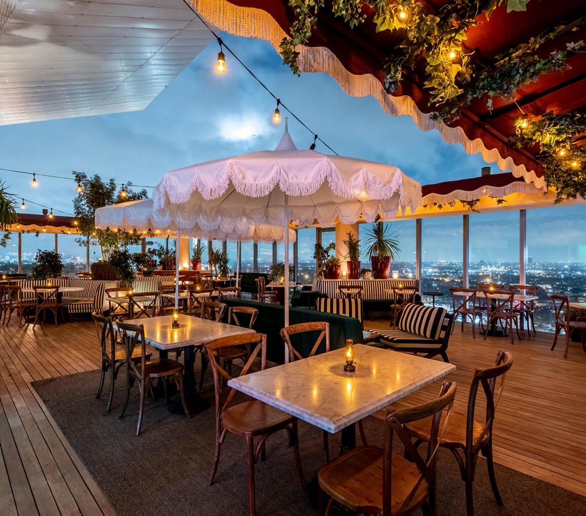 Harriet's Rooftop Bar & Lounge