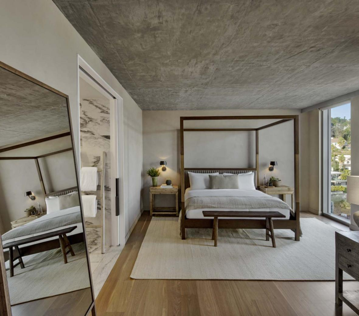 1 Hotel West Hollywood Hills House Bedroom