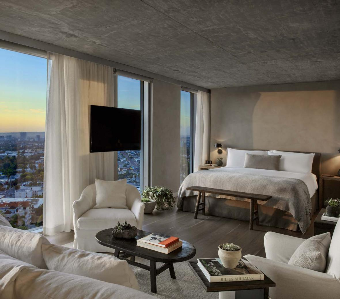 1 Hotel West Hollywood Canyon House Bedroom
