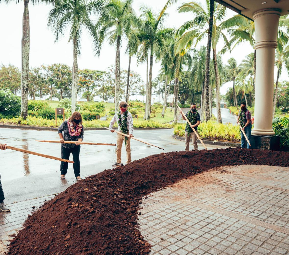 1 Hotel Hanalei Bay Groundbreaking Ceremony