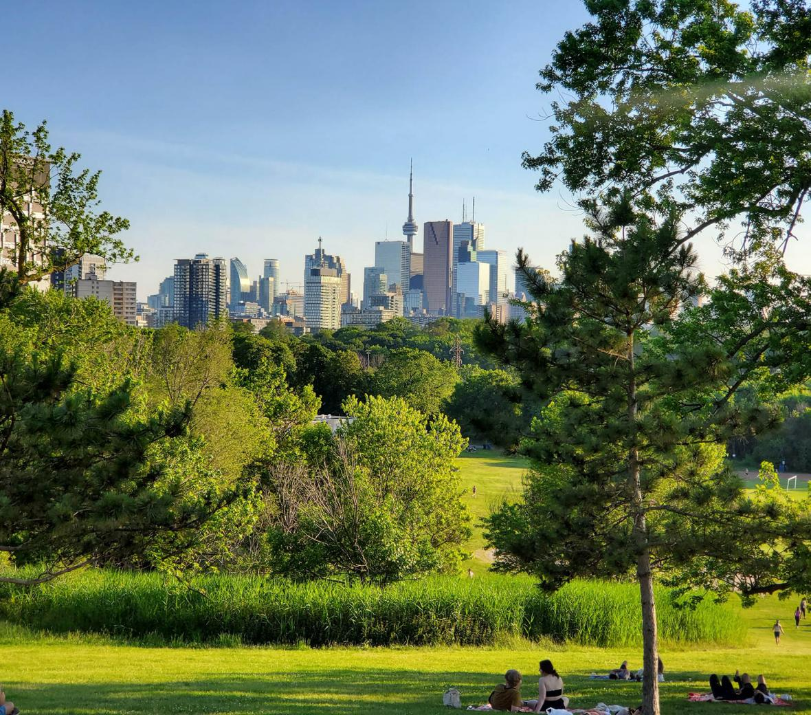 Riverdale Park in Toronto