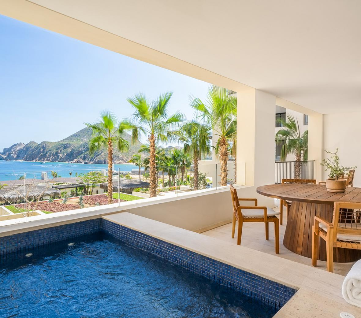 Three Bedroom Ocean View Home Terrace