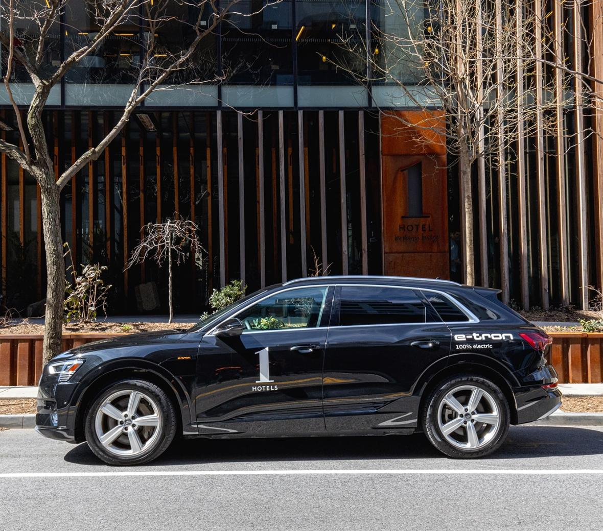 Audi Etron at 1 Hotel Brooklyn Bridge