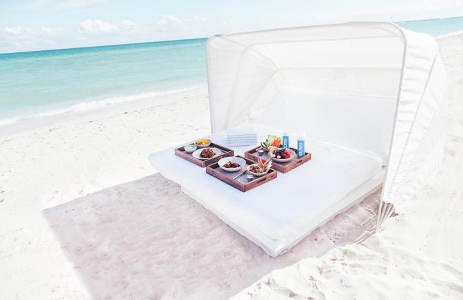 Cabana on the beach