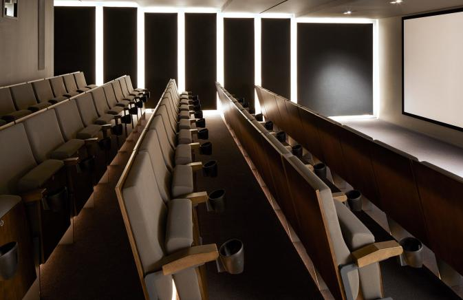 Screening room theatre seats