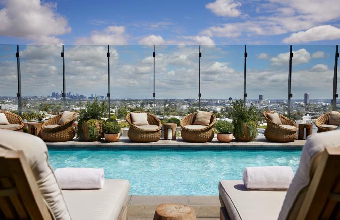 1 Hotel West Hollywood Pool
