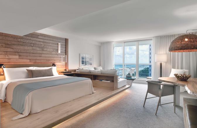 King Room with Balcony South Beach
