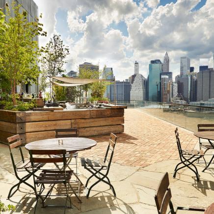Brooklyn Bridge Rooftop Bar