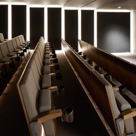Screening room theatre seats