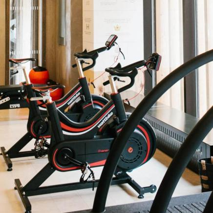 Treadmill and bikes at Field House Gym