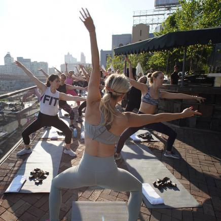 Fitness Event at 1 Hotel Brooklyn Bridge