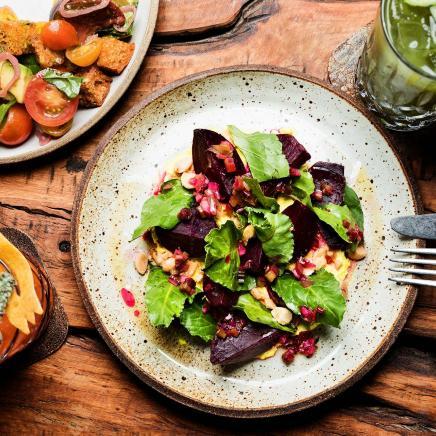 Ricotta Beet Salad at 1 kitchen