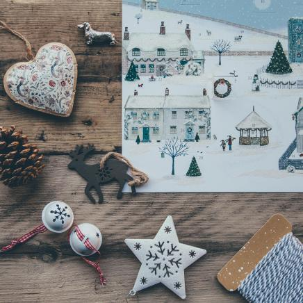 Ornaments on Wood