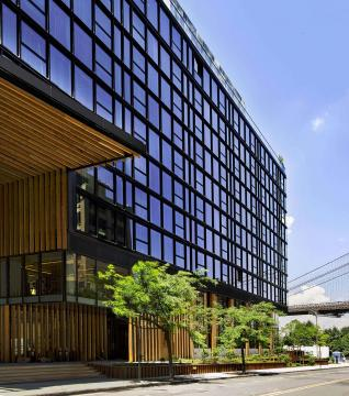 Exterior of 1 Hotel Brooklyn Bridge