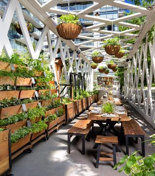 1 Hotel Garden Pavilion