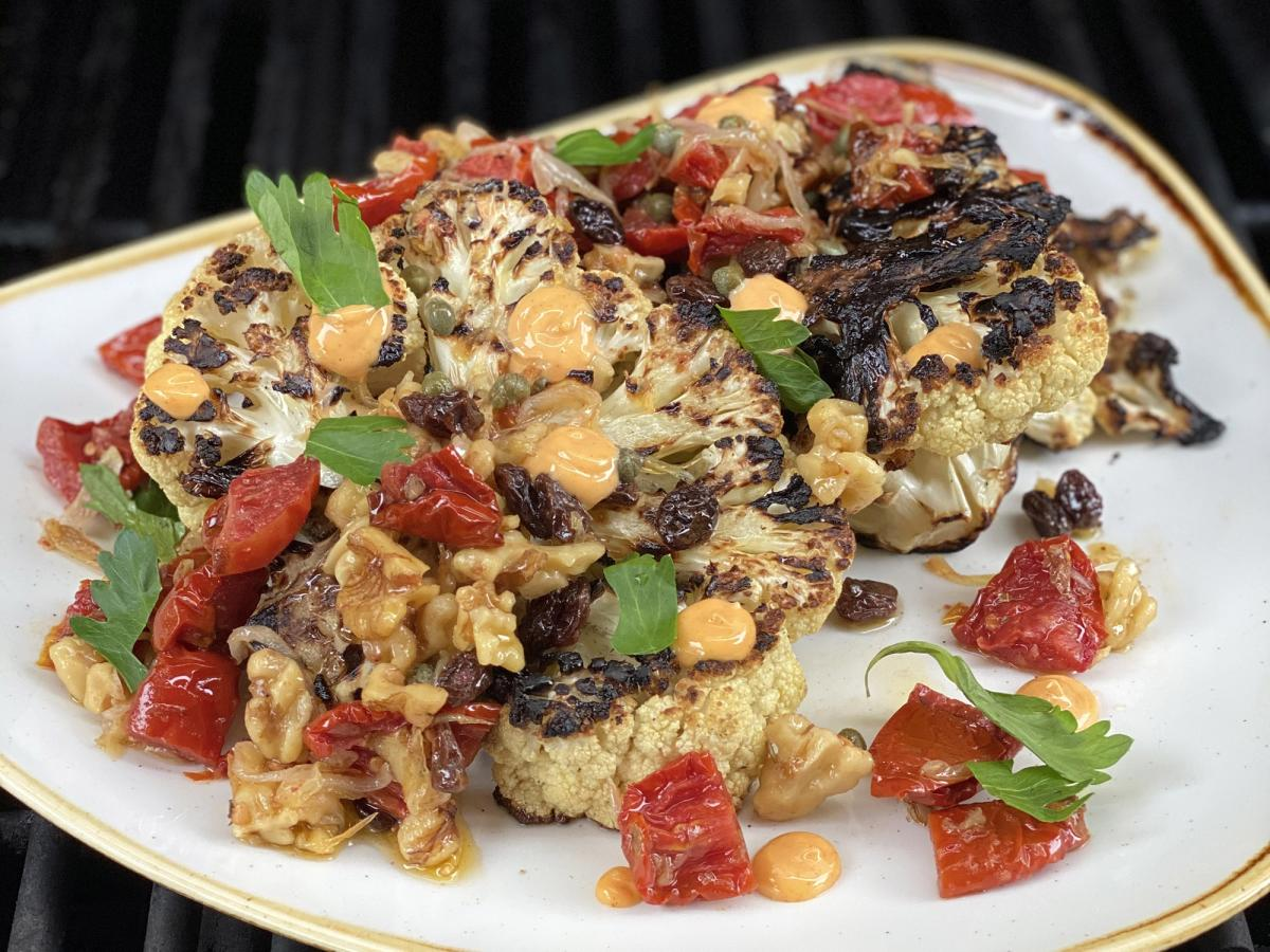 Grilled Cauliflower Steak