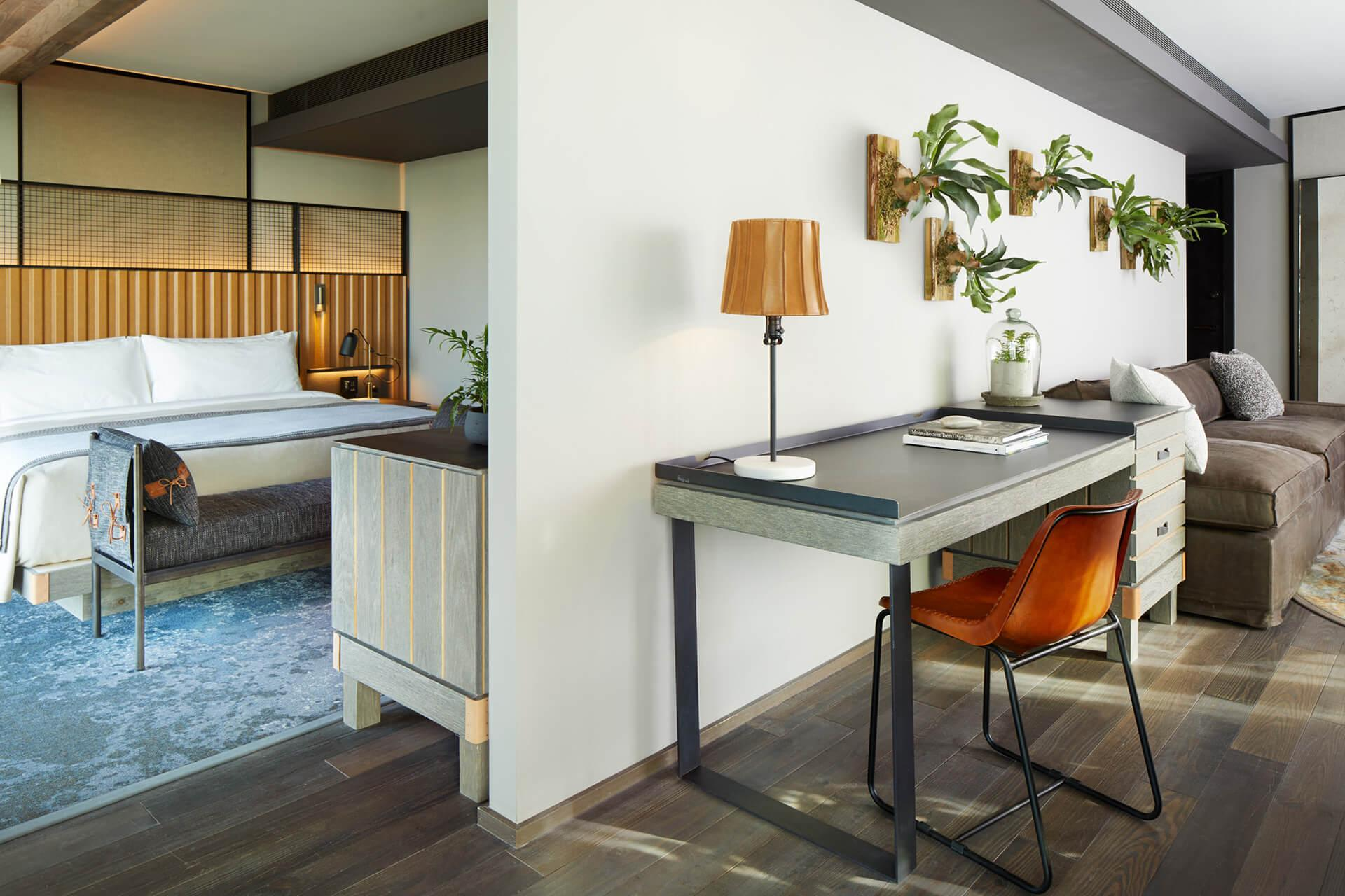 Skyline 1 Bedroom Suite at 1 Hotel Brooklyn Bridge