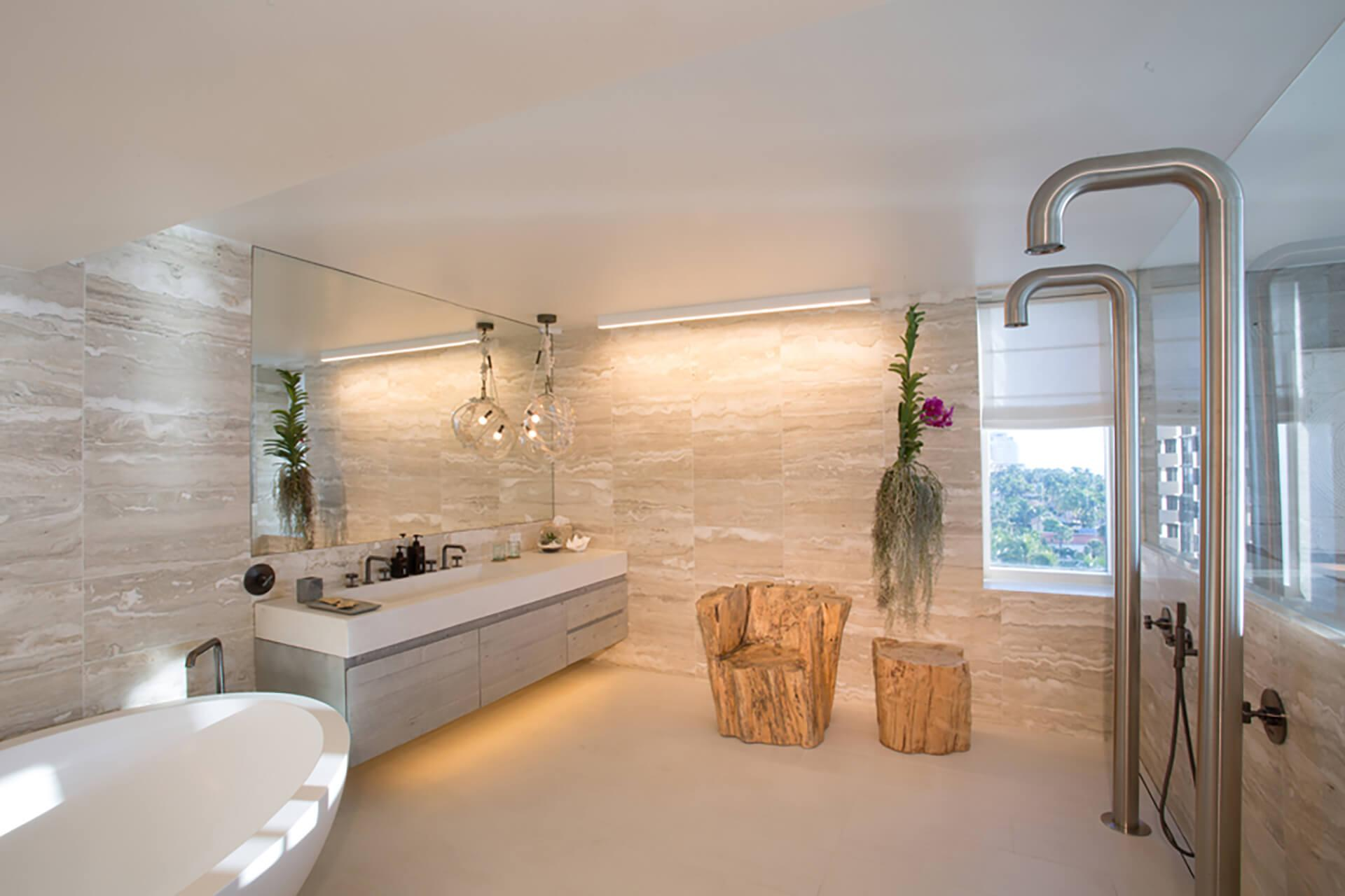 Presidential Suite at 1 Hotel South Beach | Bathroom