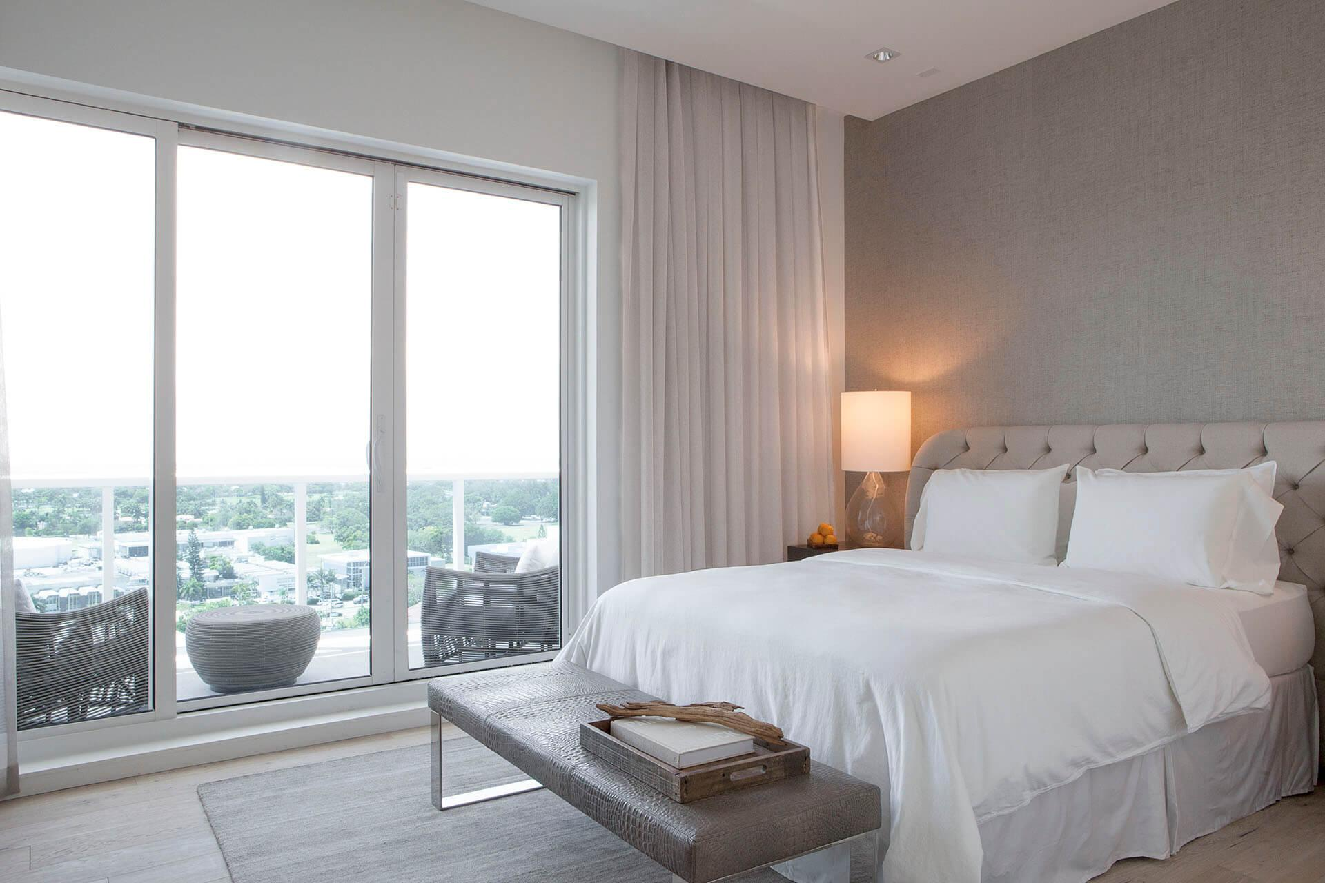 Two Bedroom Penthouse Skyline View with Balcony | Bedroom