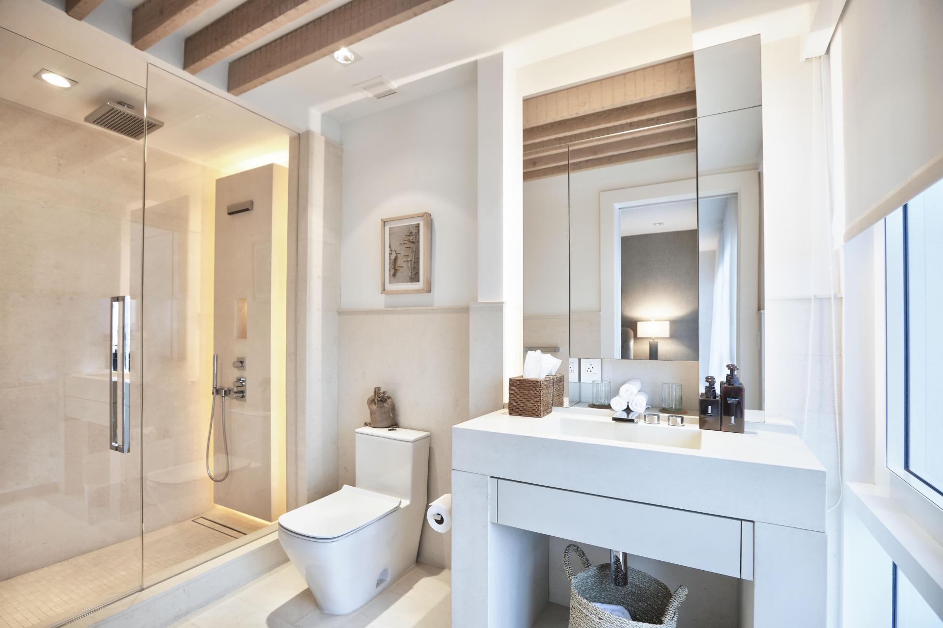 sky penthouse bathroom