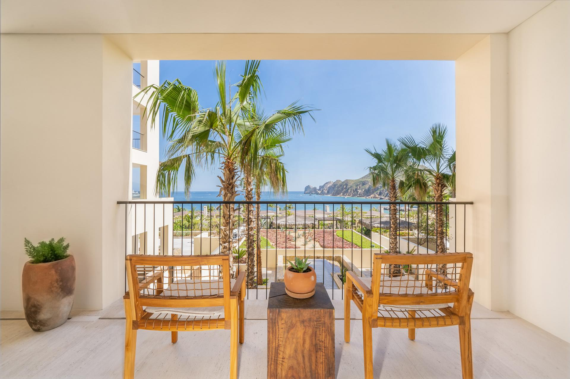 Three Bedroom Ocean View Home Terrace