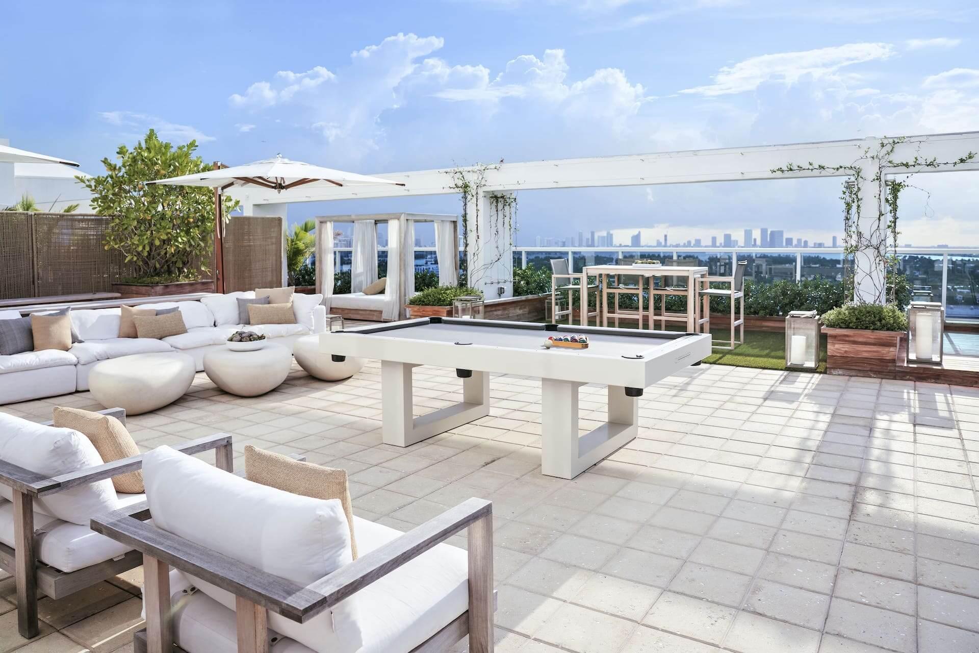 sky penthouse terrace