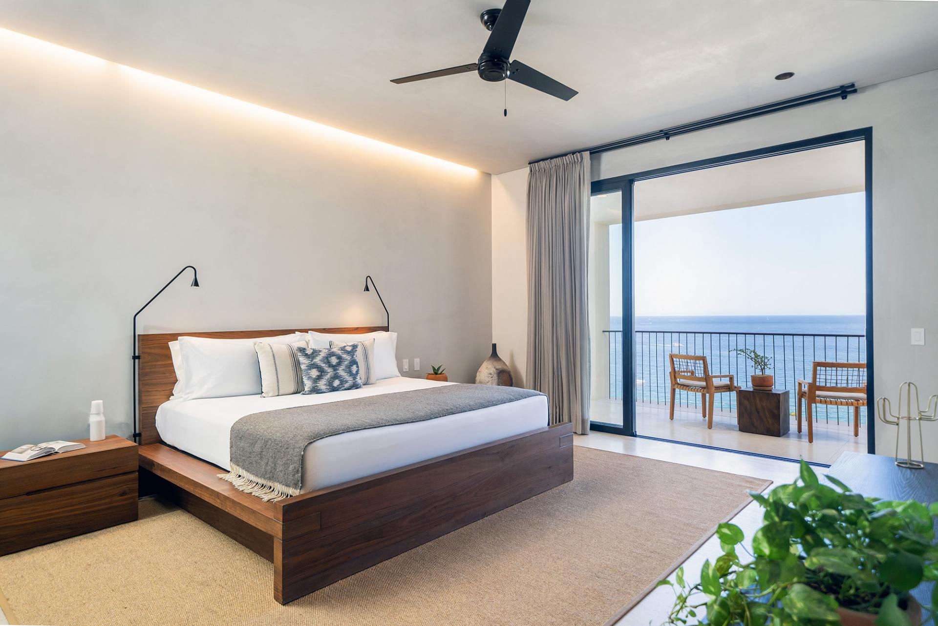 One Bedroom Ocean View Home Bedroom