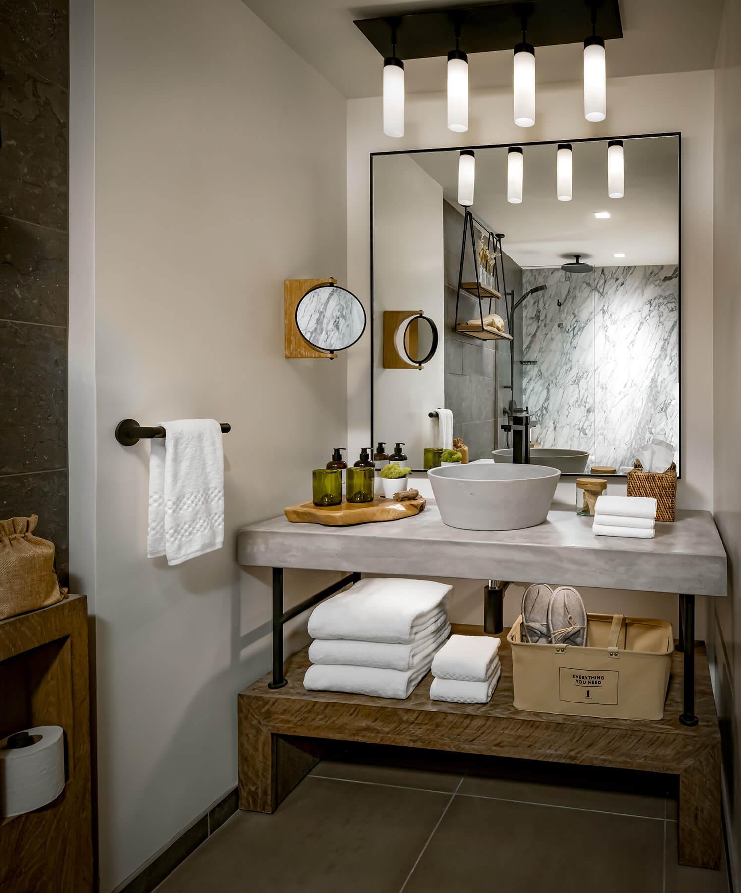 Image of bathroom vanity