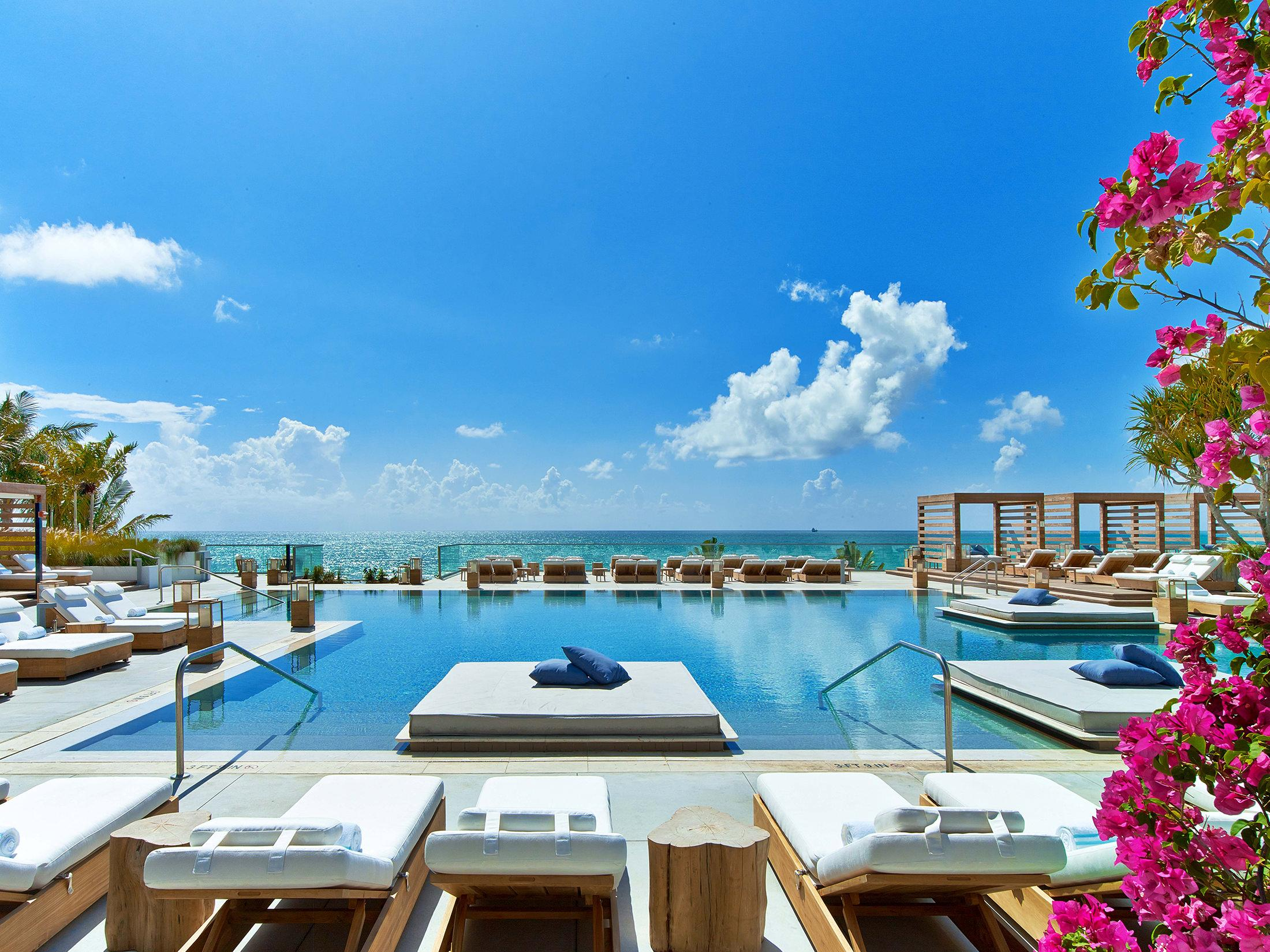 Main pool at South Beach