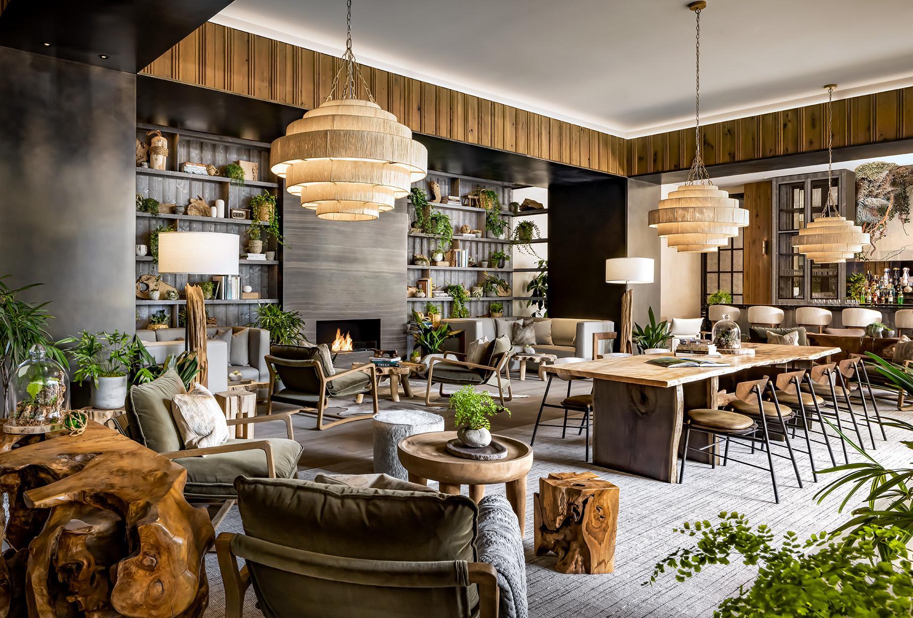 Flora Lounge at 1 Hotel Toronto
