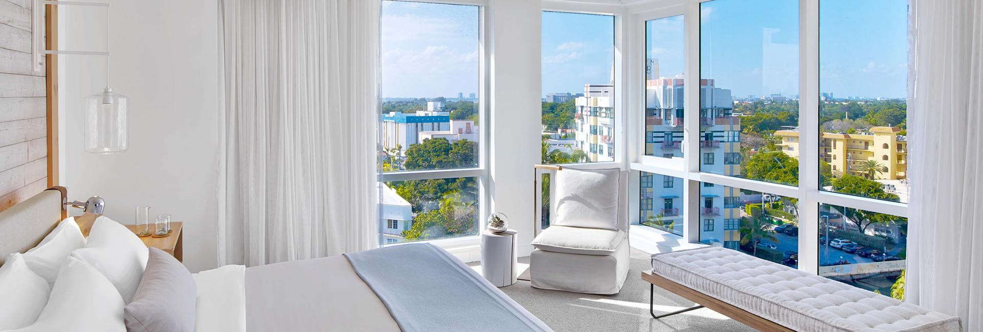 1 Bedroom suite with city view
