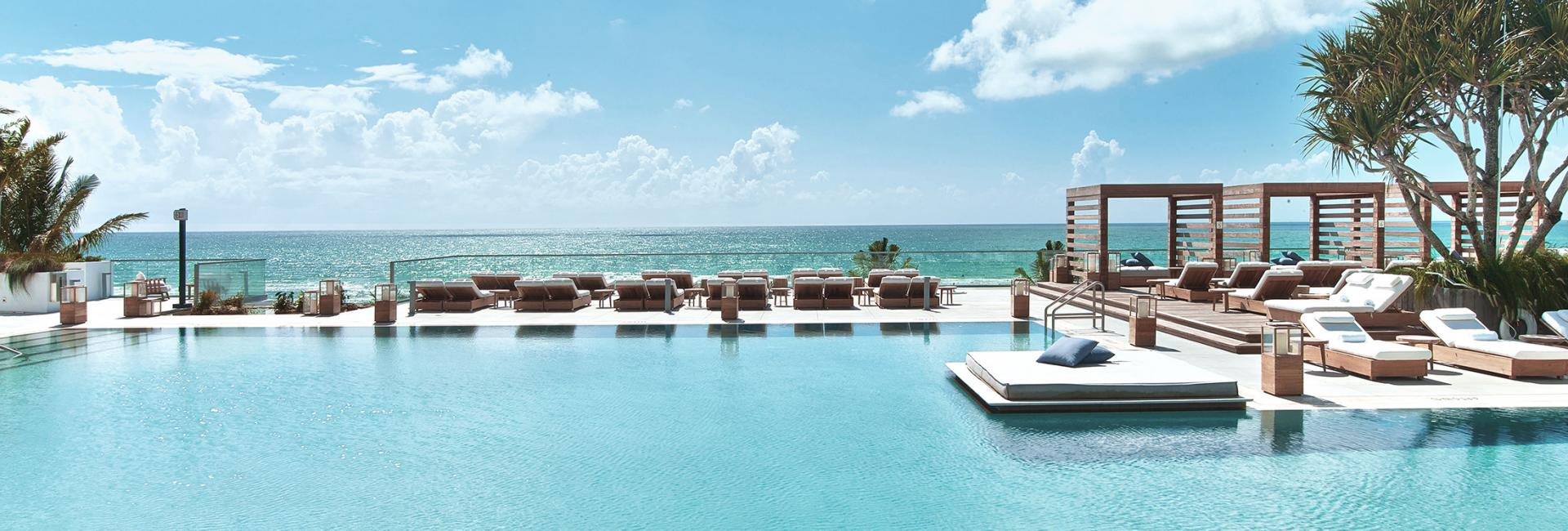 Pool at 1 hotel south beach