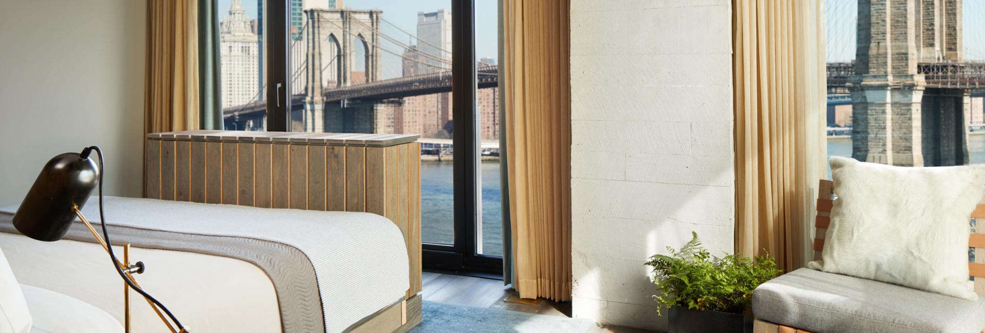 Bridge Studio Suite at 1 Hotel Brooklyn Bridge